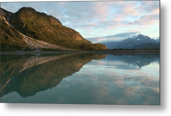 Alaskan Illusion Metal Print
