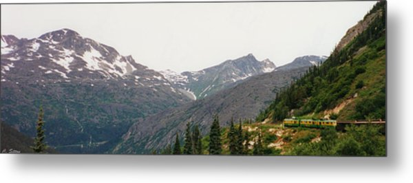 Alaskan Train Metal Print