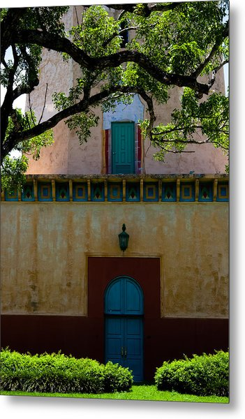Alhambra Water Tower Doors Metal Print