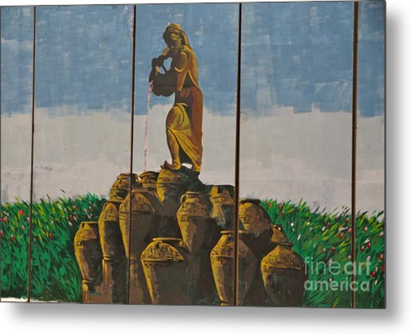 Ali Baba And The Forty Theives Metal Print by Unknown - Iraqi Local National