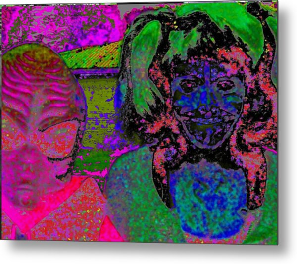 Alien Child Metal Print by Rdr Creative