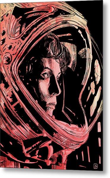 Alien Sigourney Weaver Metal Print