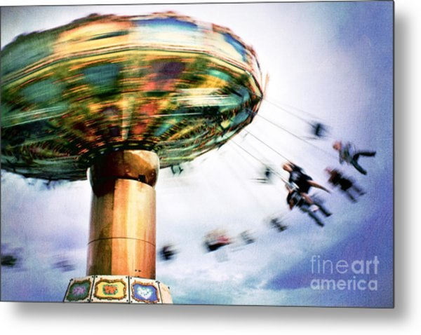 All The Fun Of The Fair Metal Print by Catherine MacBride