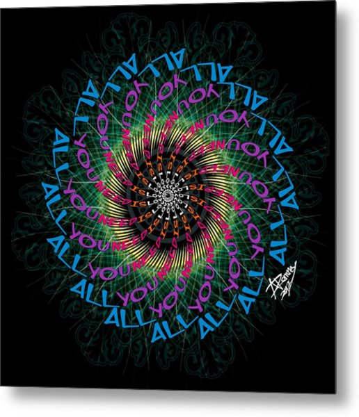 All You Need Is Love 1 Metal Print