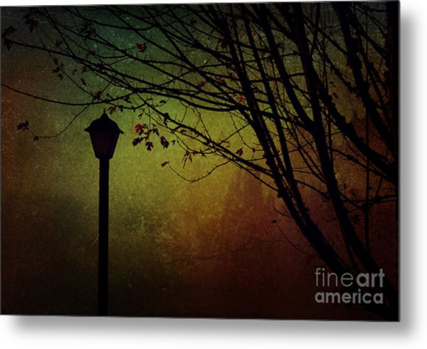 Almost Dark Metal Print