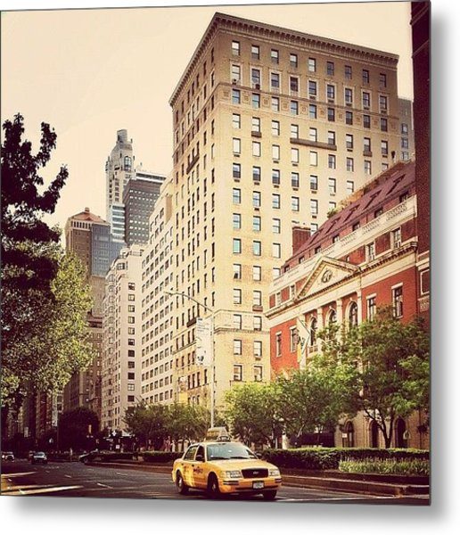 Along Park Avenue - New York City Metal Print