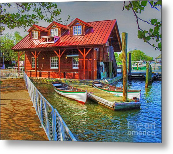 Along The Potamac Metal Print