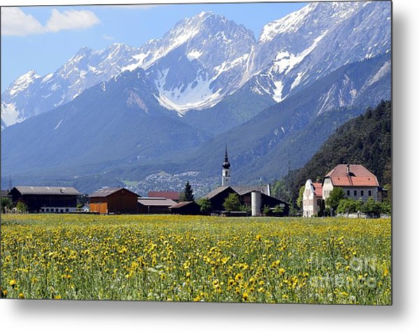 Alpine Mood Metal Print