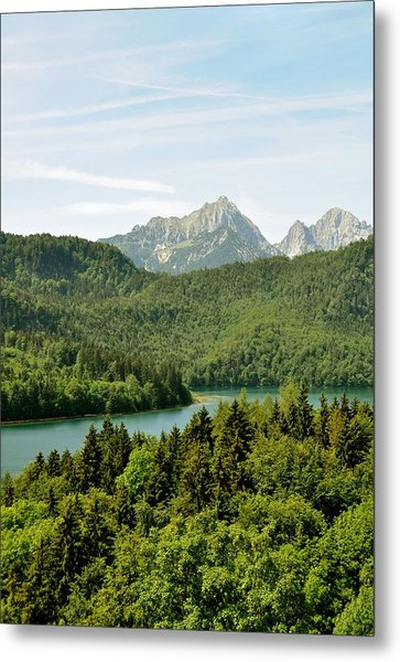Alps From Bavaria Metal Print