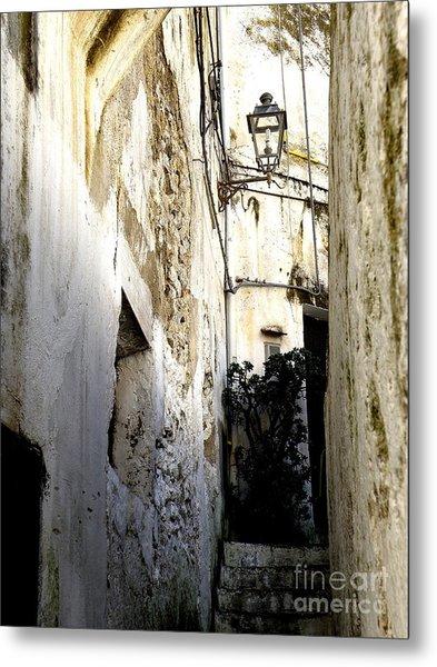 Amalfi Street Metal Print
