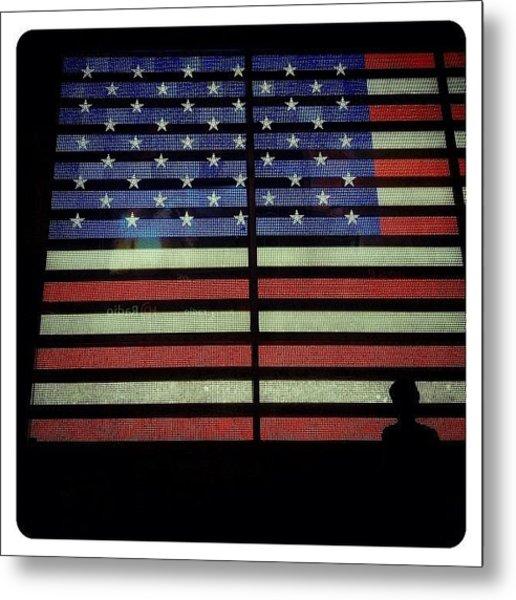American Lights Metal Print