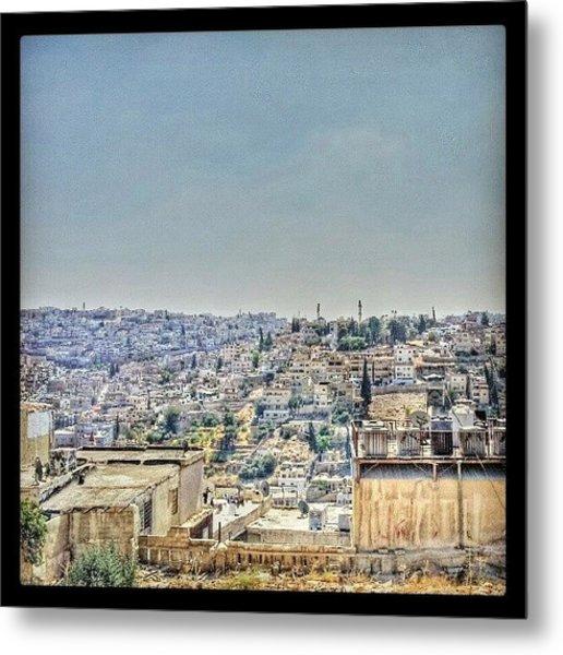 Amman Down Town, #downtown #city Metal Print