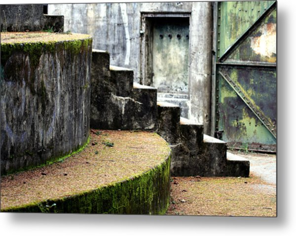 An Abandoned Fortress Metal Print