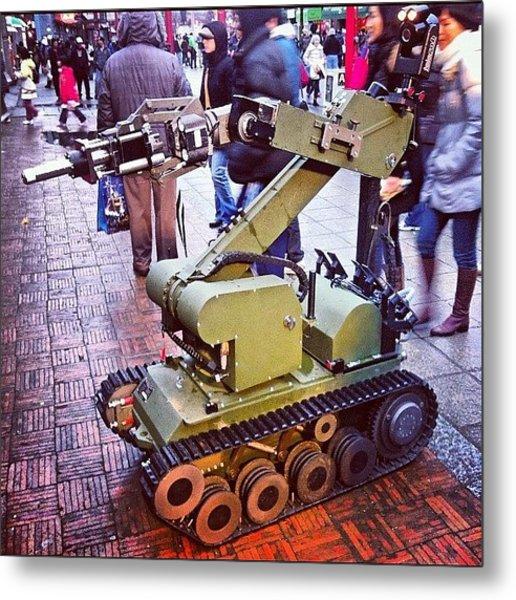 An #eod #robot On #display For The Metal Print