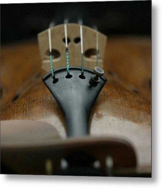 An Expensive #strad Violin Metal Print