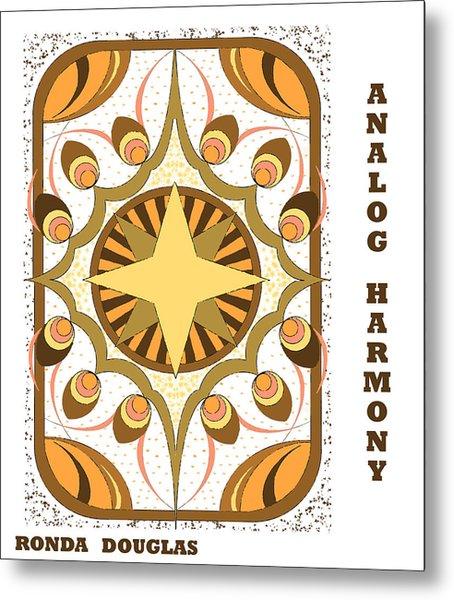 Analog Harmony Metal Print