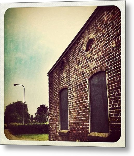 And The Last Pic Of The Mill #building Metal Print