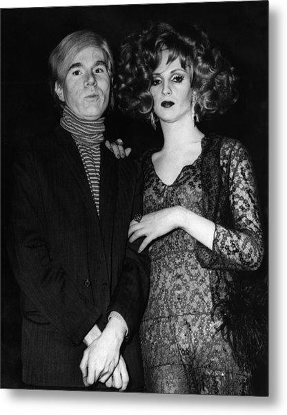 Andy Warhol (1928-1987) Metal Print by Granger