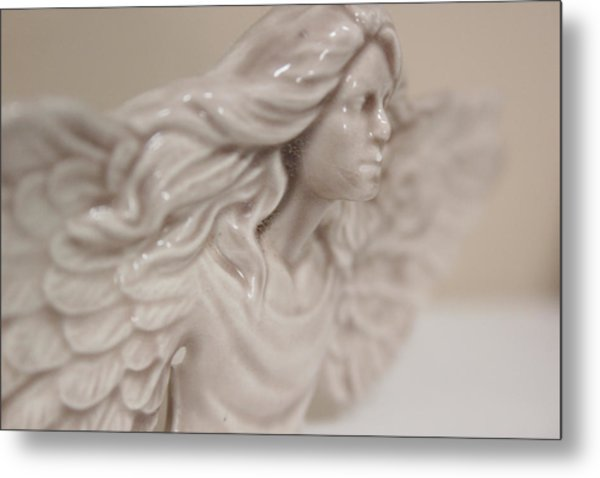 Metal Print featuring the photograph Angel by Kelly Hazel