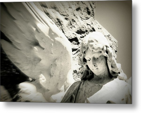 Angelic Beauty Metal Print