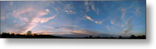 Angelic Clouds Metal Print