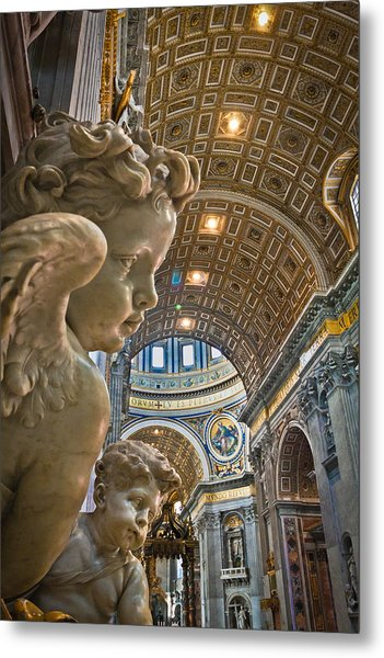 Angels At The Vatican 2 Metal Print