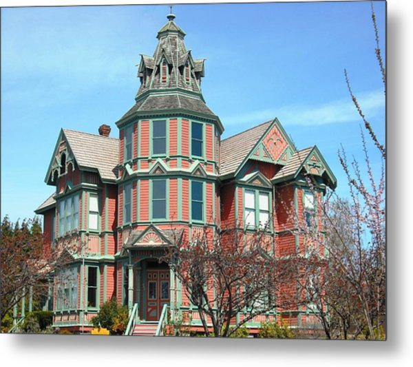 Ann Starrett Mansion Port Townsend Metal Print