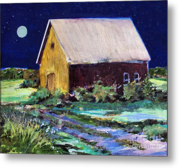 Another Barn Painting Metal Print