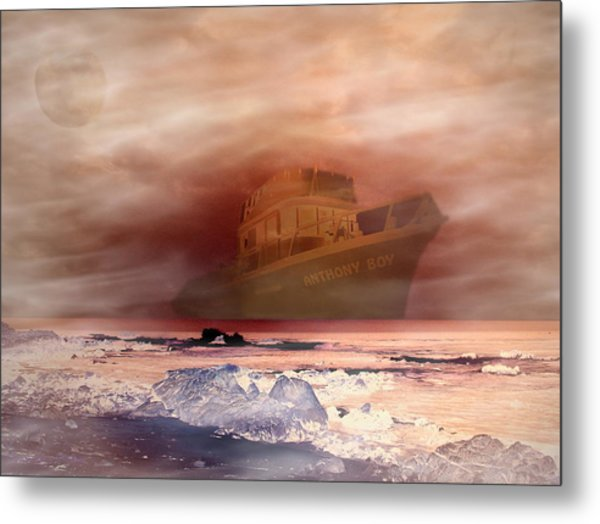 Anthony Boy's Magical Voyage Metal Print