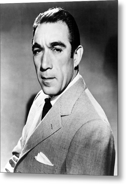 Anthony Quinn, United Artists Publicity Metal Print