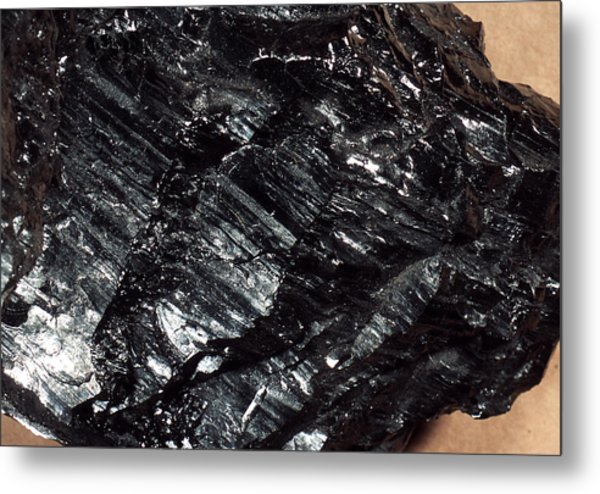 Anthracite Coal Metal Print by Dirk Wiersma