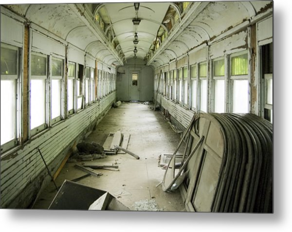 Antique Railcar Metal Print