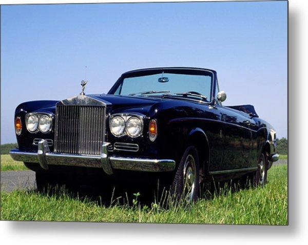 Antique Rolls Royce Metal Print