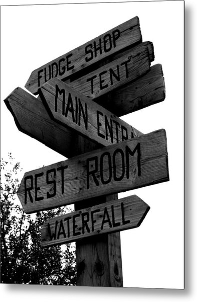 Any Which Way Metal Print