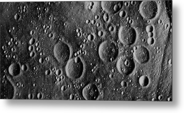 Apollo 13 Planned Landing Site On Moon Metal Print by Nasa