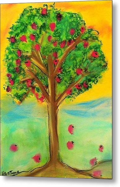 Apple Tree Metal Print