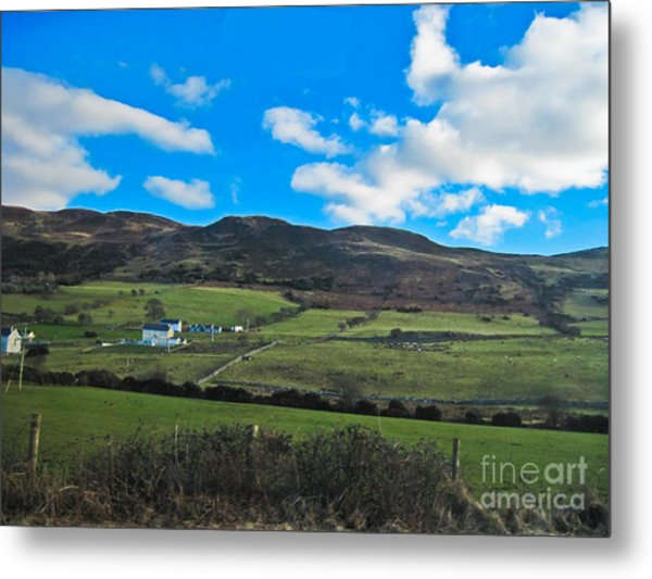 Approach To Killybeggs Metal Print by Black Sun Forge