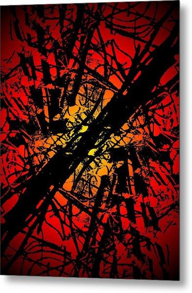 Arbor Sun Metal Print