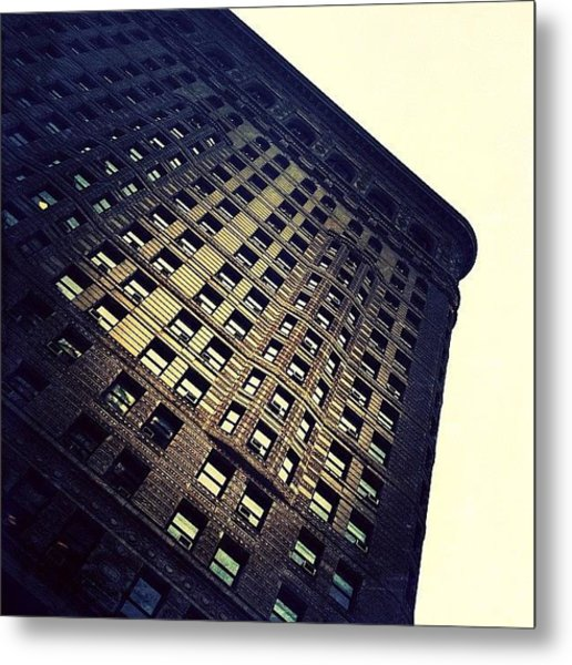 Architectural Angle Metal Print
