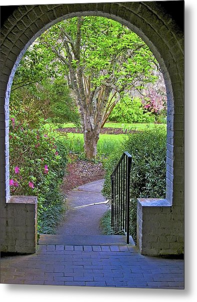 Metal Print featuring the photograph Archway by Ralph Jones