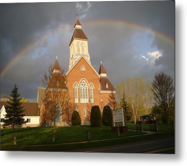 Argyle Presbyterian Church Metal Print by Mark Haley