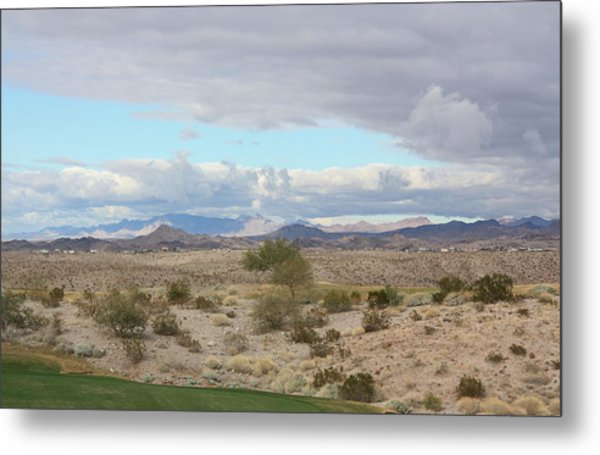 Arizona Desert View Metal Print