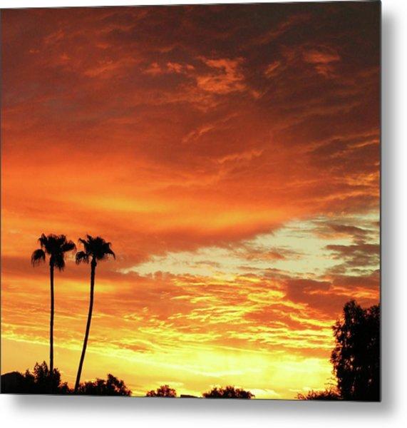 Arizona Sunrise 02 Metal Print