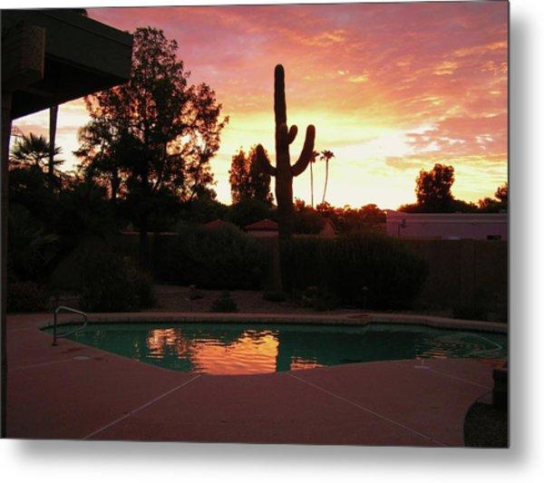 Arizona Sunrise 04 Metal Print