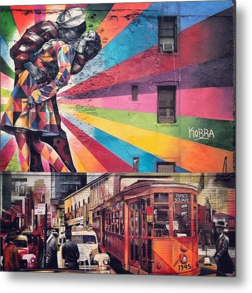 Art By Kobra Metal Print