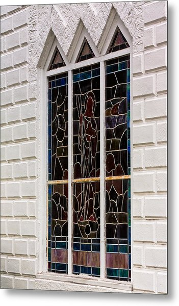 Art In Glass Metal Print