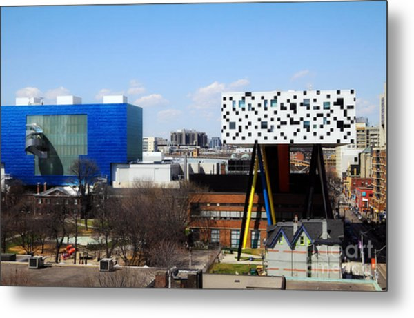 Art Institutions In Toronto Metal Print by Charline Xia