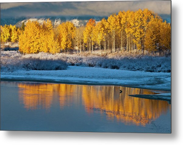 Aspen Sunrise Metal Print