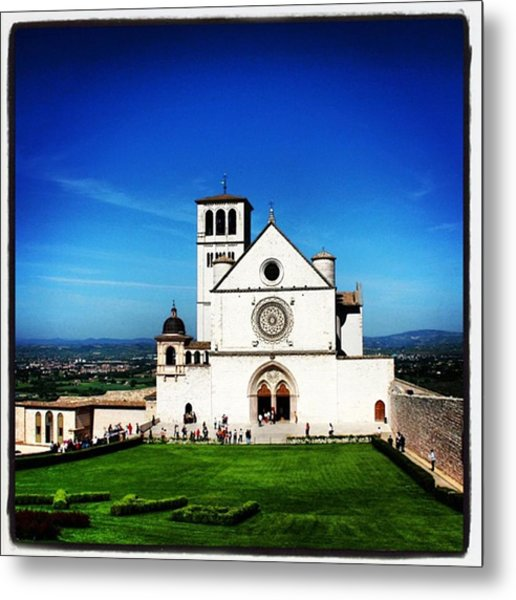 Assisi Metal Print