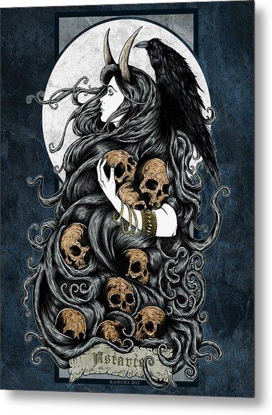 Astarte Metal Print by Maciej Kamuda